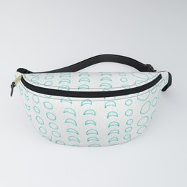 green moon cycle Fanny Pack