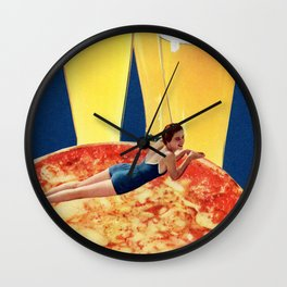 Get You a Girl Who Can Do Both Wall Clock