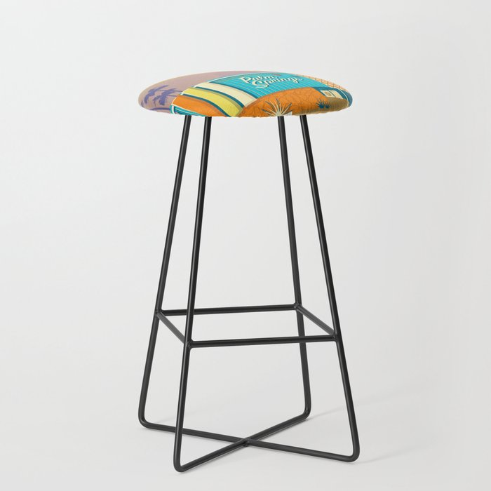 Palm Springs Apartment Bar Stool by judyoliva