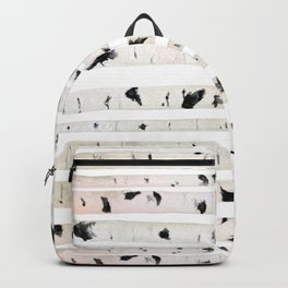 birch watercolor pattern 2018 Backpack