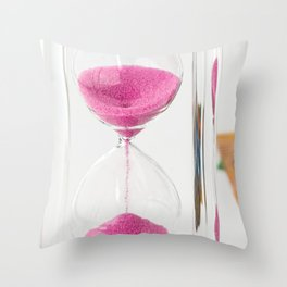 time is money Throw Pillow