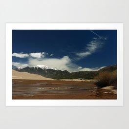Mount Herard View Art Print