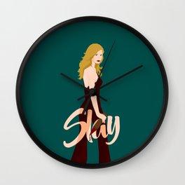 Slay Buffy! Wall Clock