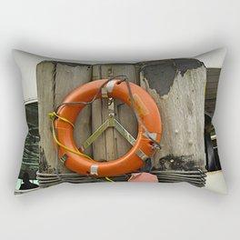 Life Saver Rectangular Pillow