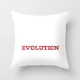 Extreme Snowbike Evolution Snow Bike Sports Gift Throw Pillow