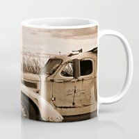 truck Mugs featuring Vintage Truck by Urlaub Photography