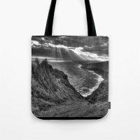 hawaii Tote Bags featuring Hawaii by Green Skye