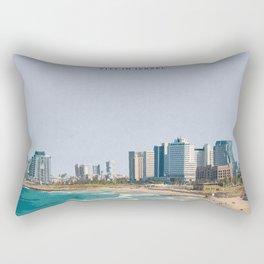 Visit Tel-Aviv Rectangular Pillow