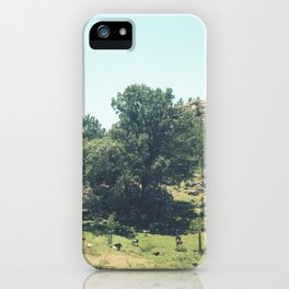 Landscape in Portugal iPhone Case
