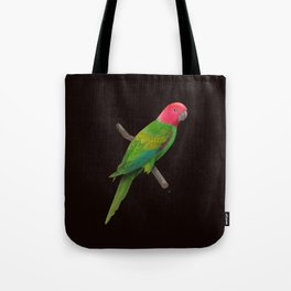 Colorful Parrot Tote Bag