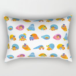 Hermit Crab Rectangular Pillow