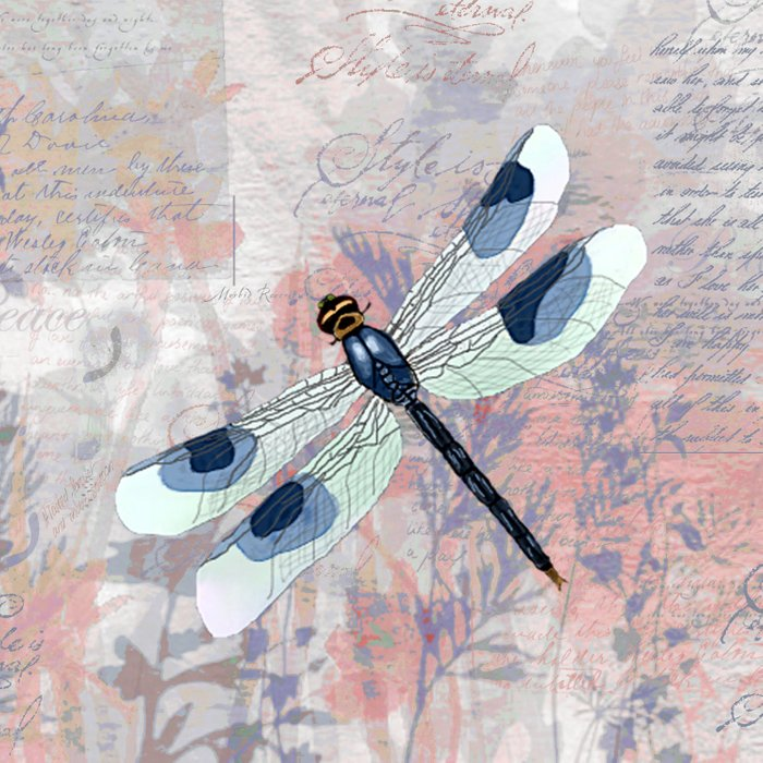 Summer Dragonfly Comforters