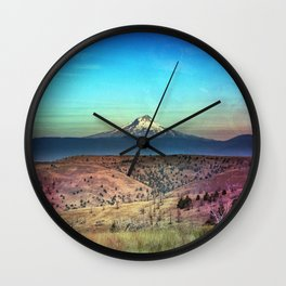 American Adventure - Nature Photography Wall Clock
