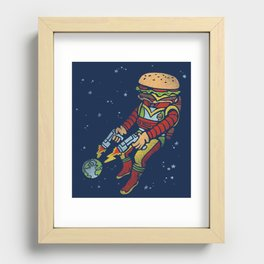 The End is Fry! Recessed Framed Print