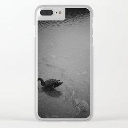 black swan Clear iPhone Case