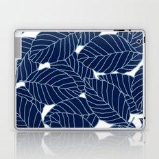 Sweet leafs:  Navy Laptop & iPad Skin