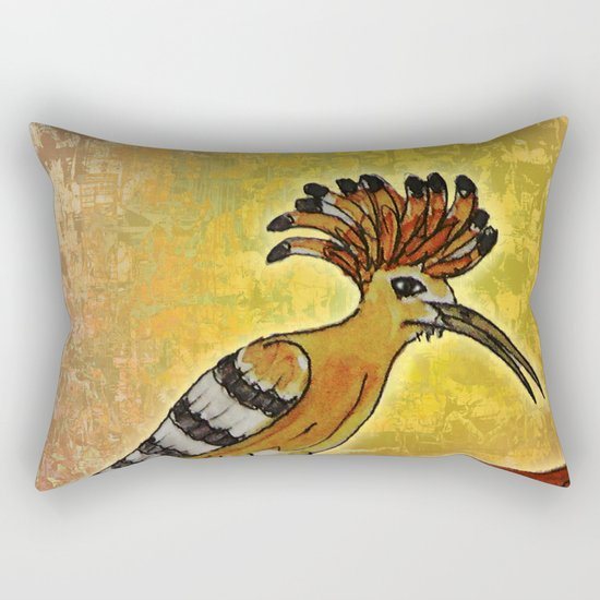 Hoopoe 2 / Nature Rectangular Pillow