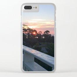 San Blas Sunrise 1 Clear iPhone Case