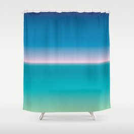 SNST—Balearic (horizontal) Shower Curtain