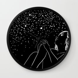 Illusions In Your Eyes Wall Clock