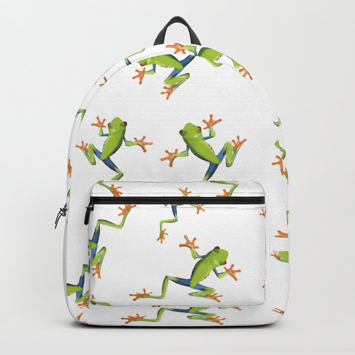 Greenery tree-frog Backpack