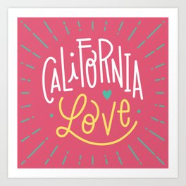 California love Art Print