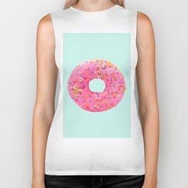 Giant Donut on Mint Biker Tank