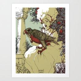 The Godmother Art Print