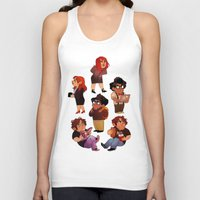 it crowd Tank Tops featuring IT Crowd by SIINS