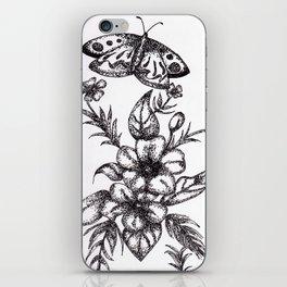 Flower Design iPhone Skin