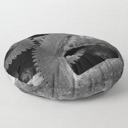 Big Gears Floor Pillow