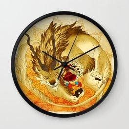 The Heart's Guard Wall Clock