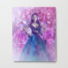 Amy Lee: Queen of the Cherry Blossom Gardens Metal Print