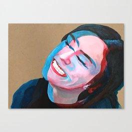 Abbyglyphic Stereogram Canvas Print