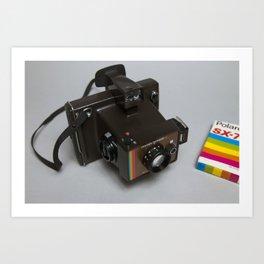 Polaroid Colour Swinger II Art Print