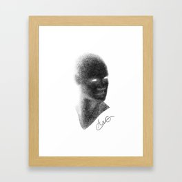 Self Portrait: Aramand Corinth Framed Art Print