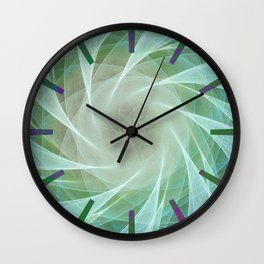 Whirlpool Diamond 2 Computer Art Wall Clock