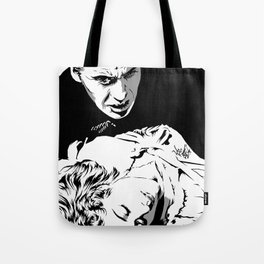The Terrifying Lover (Mono) Tote Bag