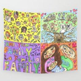 Family Tree Wall Tapestry