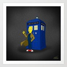 Doctor Lemongrab  Art Print