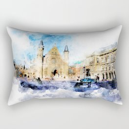 sketch the Hague 2 Rectangular Pillow