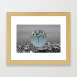 Paris is simple Framed Art Print