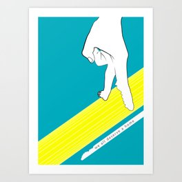 We al deserve a home Art Print