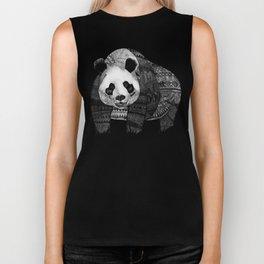 """Native Youth Panda""  Biker Tank"