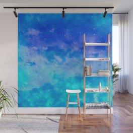 Sweet Blue Dreams Wall Mural