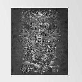 Winya No. 81 Throw Blanket