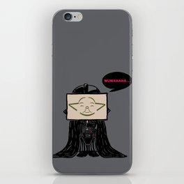 Current Status (Dark Side) iPhone Skin
