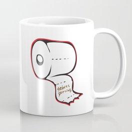 Toilet Paper Roll Coffee Mug