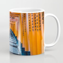 Fushimi Inari-taisha in Kyoto, Japan Coffee Mug