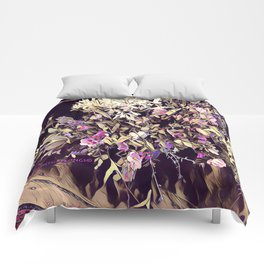 Pink and Purple for Valentines Day Comforters